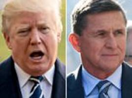 trump defends flynn who he says had 'nothing to hide'