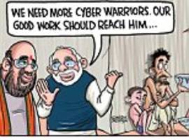 Satish Acharya on... The Gujarat polls cyber battle