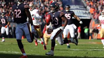 nfl: tarik cohen's mazy punt return leads our plays of the week