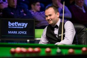 snooker: walsall's mark joyce stuns neil robertson - and vows to build on uk championships upset