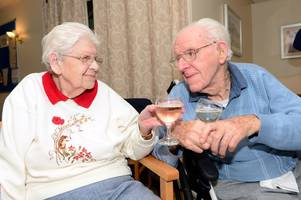 Couple who survived German bombing raid on honeymoon journey celebrate 74 years of marriage