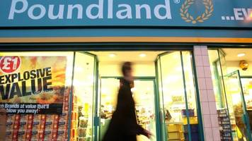 Poundland owner Steinhoff sees its shares crash by up to 66%