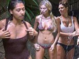 i'm a celeb's vanessa white only washed every three days