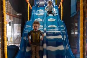 Let's Explore Horley soft play is 'an amazing place' with 'humongous blue slide' - you heard it from the kids themselves