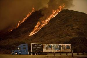 Wildfires Rage on Across Southern California Destroying More Than 180 Structures