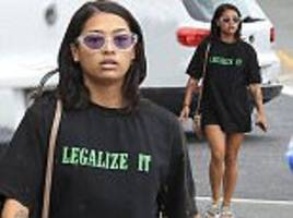 i'm a celeb's vanessa white calls for weed legalisation
