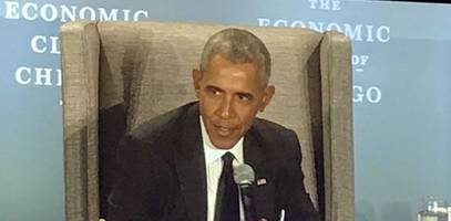 obama compares trump to hitler: 60 million people died so you've got to pay attention, and vote