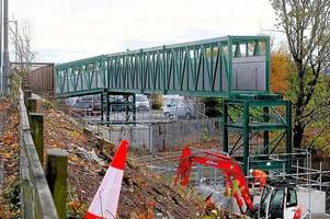 uncertainty over timescale of railway electrification works on the dunblane to stirling line