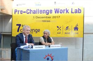 """india's first ever """"7 days challenge"""" launched at the teri school of advanced studies"""