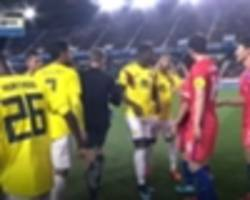 colombia star cardona given five-match ban for 'racist' gesture against south korea
