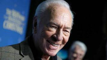 Christopher Plummer Nominated for a Golden Globe – in a Role That Wasn't Even His