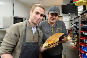 watch our reporter make a burger at the newly refurbished grimsby mcdonald's restaurant
