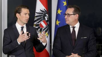 austria's anti-immigrant freedom party enters government; wins key ministry posts