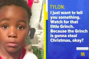 christmas crime-stopper: 5-year-old boy calls 911 'because the grinch is gonna steal christmas' (video)