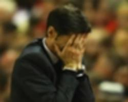 hospitalised valencia coach marcelino has to grin and boar it