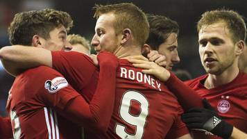 aberdeen win to cut gap to celtic to eight points