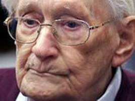 'bookkeeper of auschwitz', 96, must go to jail, says court
