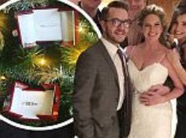 former eastenders star brooke kinsella gets married