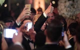 questions raised over donald trump new year's eve party ethics
