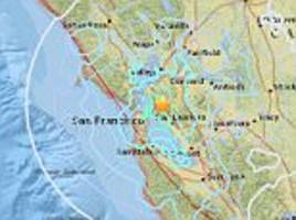 magnitude 4.4 earthquake shakes san francisco bay area