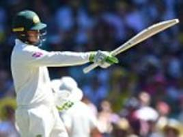 fifth ashes test day two: usman khawaja leads charge