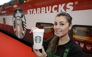 starbucks has become the first to announce its own latte levy