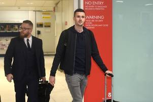 jamie murphy rangers move in doubt as he fails to board plane to florida