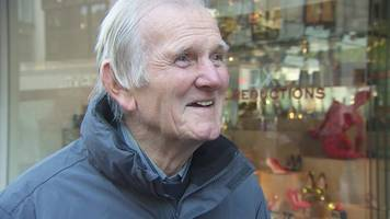 watch tommy lawrence's chance encounter with bbc reporter