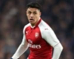 Man City and Man Utd not in Alexis Sanchez bidding war, Wenger claims
