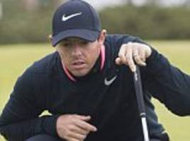 Rory McIlroy reveals he has a heart condition