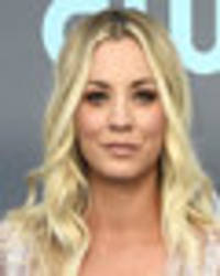 kaley cuoco ditches bra as assets take centre-stage in naked illusion dress