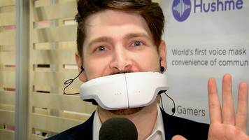 CES 2018: Hushme mask lets users make private calls
