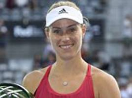 angelique kerber wins sydney international title