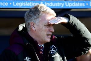 West Ham boss David Moyes in no rush to sell strikers