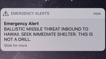 Hawaii missile strike alert: Fear, panic and relief at PGA Tour event