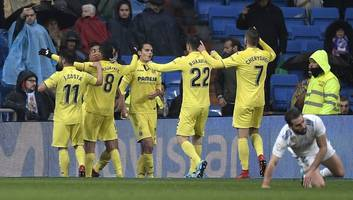 Real Madrid in Disarray After Falling to Late Villarreal Winner