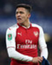 Liverpool ready to bid £35m for Arsenal star Alexis Sanchez and beat Man City and Man Utd
