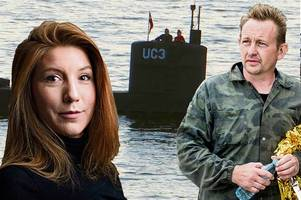 danish inventor charged with murdering journalist on his submarine and chopping up her body