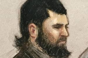 teacher 'plotted london terror attacks' as court hears how 'isis inspired fanatic' claimed to be 'death squad sent by allan'