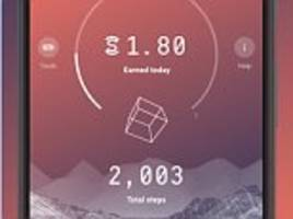 Sweatcoin app gives you money based on distance walked