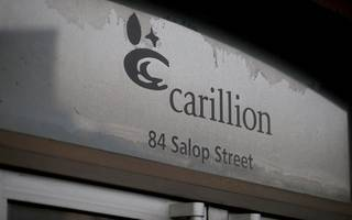 government sets up carillion task force