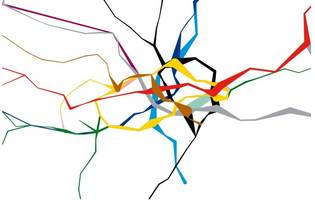This Tube map shows how busy each London station is throughout the day