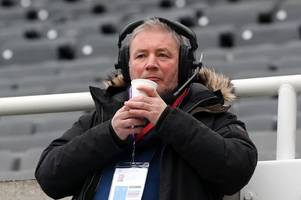 rangers legend ally mccoist sings one direction hit to impress niall horan on talksport