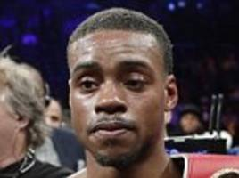 errol spence jnr shows how he could follow mayweather