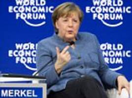 merkel says rise of right-wing populism is 'poison'