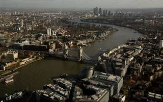 """london ranked among top global cities as being """"fully open for business"""""""