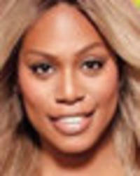 braless laverne cox stuns in completely see-through bodysuit