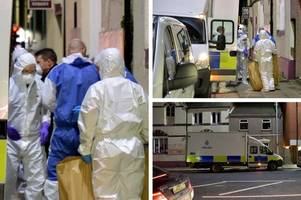 woman's death triggers major investigation in grimsby town centre