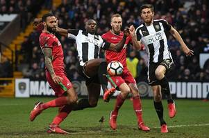 notts county 1-1 swansea city: fa cup draw reminds swans they cannot afford to draw a blank in transfer window