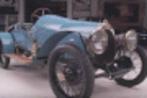 oldest driveable bugatti stops by jay leno's garage